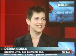 Debra Gould on TV News