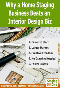 why home staging beats interior design
